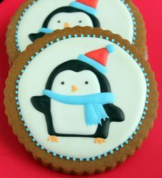 Penguins, Cookies and Black and white on Pinterest