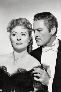 Greer Garson & Errol Flynn, That Forsyte Woman (1949) jewelry by Joseff of Hollywood