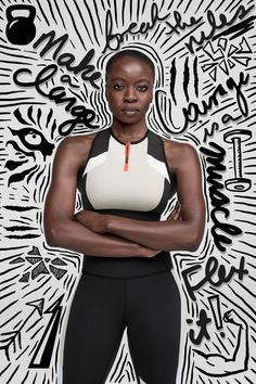 Danai Gurira, Gal Gadot, and More Let Their Intentions Shine in Reebok's New Campaign Graphic Design Posters, Graphic Design Illustration, Graphic Design Inspiration, Modern Graphic Design, Typography Design, Massimo Vignelli, Graphisches Design, Layout Design, Doodle On Photo
