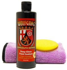 Wolfgang Deep Gloss Paint Sealant delivers a deep, wet, liquid shimmer unlike anything you can imagine.