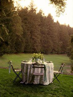 Romantic Green Spring Wedding Ideas