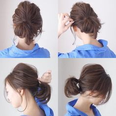 Summer Hairstyles : 12818979 1718428731745413 1462538373 n.ig cache Summer Hairstyles : 12818979 1718428731745413 1462538373 n. Summer Hairstyles, Messy Hairstyles, Medium Hair Styles, Short Hair Styles, Hair Arrange, Short Hair Updo, Asian Hair, Hair Day, Hair Designs