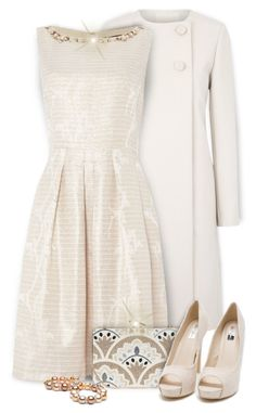 """""""Pearl for June"""" by kiki-bi ❤ liked on Polyvore featuring Chloé, Elie Tahari, KOTUR, Nly Shoes, women's clothing, women's fashion, women, female, woman and misses"""