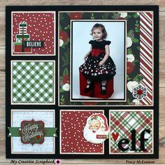 Santa's Elf - Scrapbook.com #memoriesscrapbook