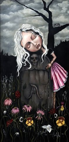 Art Print: Remembrance by Angelina Wrona : Dark Fantasy Art, Anime Fantasy, Bird Masks, Goddess Art, Poster Prints, Art Prints, Masks Art, Lowbrow Art, Pop Surrealism