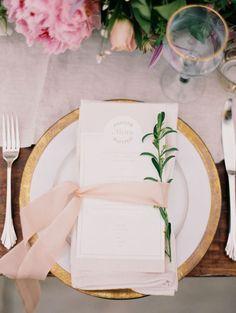 stylish pink wedding reception decor for garden weddings