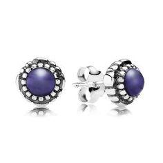 Best 25 Pandora Birthstone Earrings Ideas On Pinterest