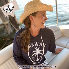 Come Sail Away with me and Find your Paradise.    The Palm Anchor lightweight, triblend hoodie from @luckypennyhawaii Sizing is unisex to fit both men and women. It is so soft and comfortable you won't want to take it off! Lucky Penny, Anchor, Compliments, Hawaii, Palm, Paradise, Unisex, Hoodies, My Love