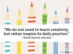 How do *you* inspire creativity?