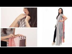 How To Wear A Saree Pant Style - Fashion For Girls - Glamrs - YouTube