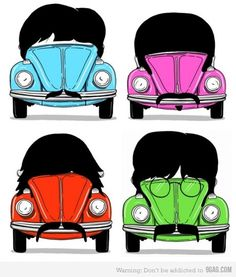 Beetles! ;) This was funny!