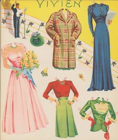 Hour of Charm Paper Dolls