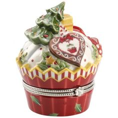Winter Bakery Decoration Treat Cupcake Baum 9cm - Villeroy & Boch