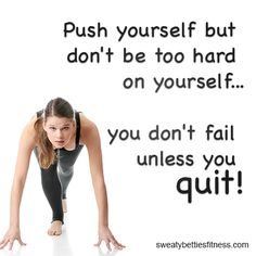 Don't you EVER quit.  #dontbebabitch