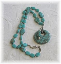 Turquoise Necklace and Pendant