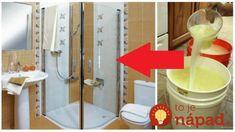 Už neriešim zaschnuté kvapky a vodný kameň: Zázrak na čistenie sprchového kúta za centy – 5 minút a vyzerá ako nový! Kuta, Canning, Home Canning