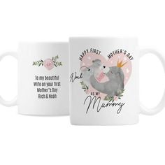 Personalised Mother's Day Mama Bear Mug - Mothers day mug - mama bear - mummy bear - baby bear - new mum mug for mothers day New Baby Gifts, Great Gifts, Mother's Day Mugs, First Mothers Day, Happy Words, New Mums, Christening Gifts, Newborn Gifts