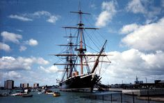 Get married on HMS Warrior, moored in Portsmouth, UK