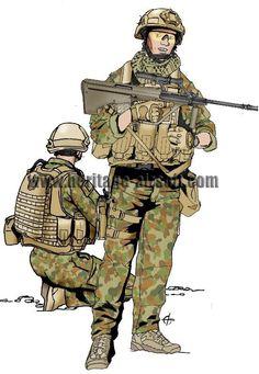 Ich bin ein australischer Soldat