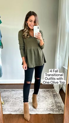 Fall Transition Outfits, Casual Work Outfits, Fall Fashion Outfits, Casual Fall Outfits, Fall Winter Outfits, Autumn Fashion, Cute Outfits, Womens Fashion, Fasion