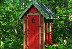 Yes, my dream home has at least one outhouse. Don't judge until you have 4 boys!