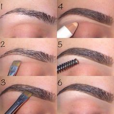 fill in thinner brows