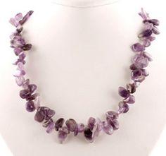 Hawaiian Jewelry   Hawaiian Necklace   Amethyst Jewelry   Amethyst Necklace
