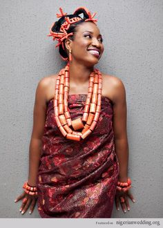 1000+ images about Nigerian Wedding beads on Pinterest ... Nigerian Wedding Traditions And Customs