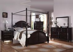 21580 Charisma Bedroom in Cherry by Acme w/Options
