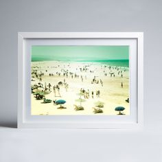 Keri Bevan - Caravan Trails - Framed print