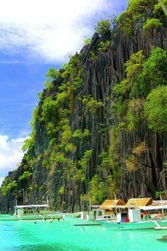 Banol Beach, Coron Island,Philippines.  My dream vacation with someone I love... <3