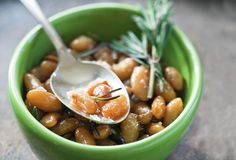 Braised White Beans from Leite's Culinaria