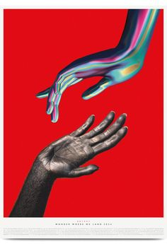 'Wonder Where We Land' Tour Posters - Burgess Studio