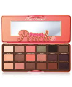 Make Up Palette, Face Palette, Too Faced Eyeshadow, Peach Eyeshadow, Too Faced Makeup, Eyeshadow Palette Too Faced, Too Faced Lidschatten, Makeup Brands, Best Makeup Products