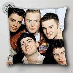 Boyzone are back in town for reunion Pillow Case, Chusion Cover ( 1 or 2 Side Print With Size 16, 18, 20, 26, 30, 36 inch )