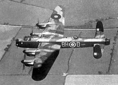 RAF No. 300 Polish Bomber Squadron. Avro Lancaster. Ww2 Aircraft, Military Aircraft, Lancaster Bomber, Old Planes, Ww2 Pictures, Star Wars Ships, Fun World, Royal Air Force, World War Two