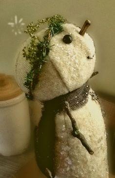 Snow Man http://primitivehandmadesmercantile.com/prairie-prims