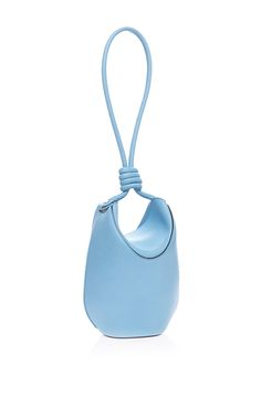 Flamenco Cocoon Bag In Light Blue by Loewe for Preorder on Moda Operandi