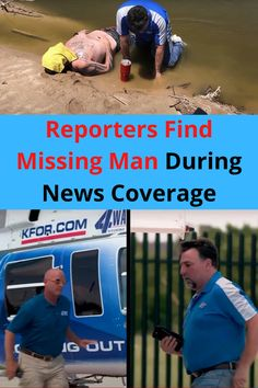 It was a fairly regular day for Mason Dunn and Steve Johnson, who were flying in the KFOR-TV news chopper 4. Dunn was flying while Johnson was analyzing the landscape with the onboard camera.