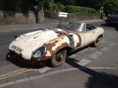 1961 Jaguar E-Type 3.8-Litre 'Flat Floor' Roadster  Chassis no. 850221 Engine no. R2213-9