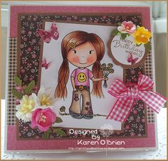 Hippy Chick by Karen O' Brien  www.the-papernest.com
