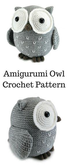 Amigurumi Large Owl Crochet Pattern Printable #ad #amigurumi #amigurumidoll #amigurumipattern #amigurumitoy #amigurumiaddict #crochet #crocheting #crochetpattern #pattern #patternsforcrochet #printable #instantdownload #owl