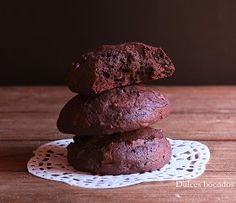 Dulces bocados: Cookies brownie de chocolate