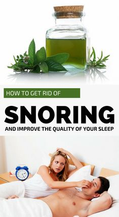 Snoring is not a symptom of a serious problem, but it can affect the quality of sleep, affecting you and the person sleeping next to you. If the option in solving this problem was to isolate the snoring person in another room, nowadays are many natural re What Causes Sleep Apnea, Sleep Apnea Treatment, Causes Of Sleep Apnea, Home Remedies For Snoring, Sleep Apnea Remedies, Insomnia Remedies, How To Get Sleep, How To Get Rid, Circadian Rhythm Sleep Disorder