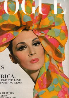 model: wilhelmina cooper - vogue u.s. 1965