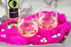 DIY Heart Etched Wine Glasses with Ecco Domani