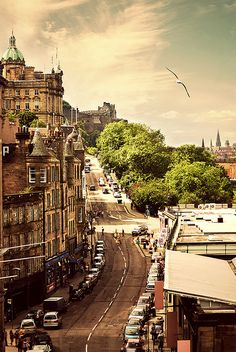 Edinburgh, Scotland.. crossing my fingers to be studying abroad here!
