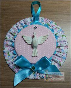 mandala divino espírito santo feita com CD