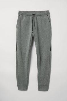 Pantalon jogger de sport - Gris foncé chiné - HOMME   H M FR 59bb5587267d