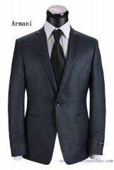 Costume à un bouton Armani Homme Gris clair Suit Jacket, Costumes, Jackets, Fashion, Gray, Button, Down Jackets, Moda, Dress Up Clothes